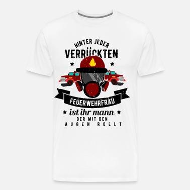 Je suis une feuerwehrfrau-comme une femme normale seulement Cool t-shirt s-xxxl