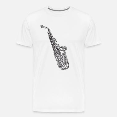 Saxofon Heavy Metal Band Musiker Musikk Saxo Premium T