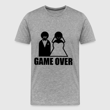 Game Over weeding - Premium T-skjorte for menn