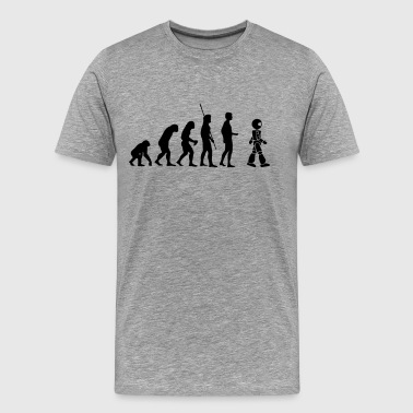Robot Evolution - T-shirt Premium Homme