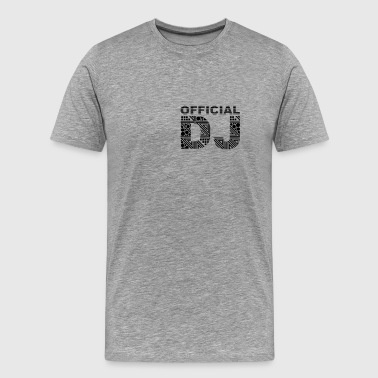official DJ - Men's Premium T-Shirt