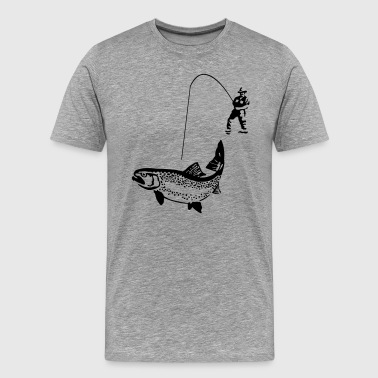 trout - Men's Premium T-Shirt