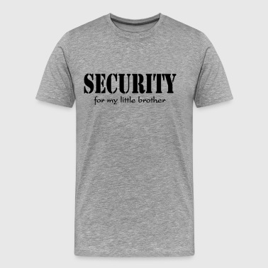 Security for my little Brother - Men's Premium T-Shirt