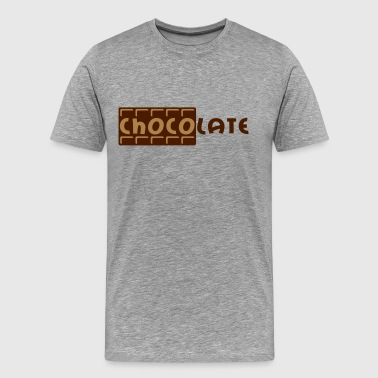 Chocolate - Premium T-skjorte for menn