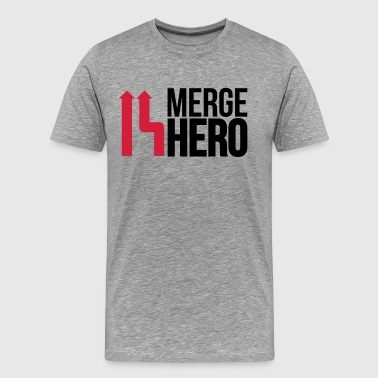 merge_hero9_2f - Men's Premium T-Shirt