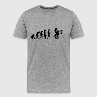 Evolution Enduro jump  - Men's Premium T-Shirt