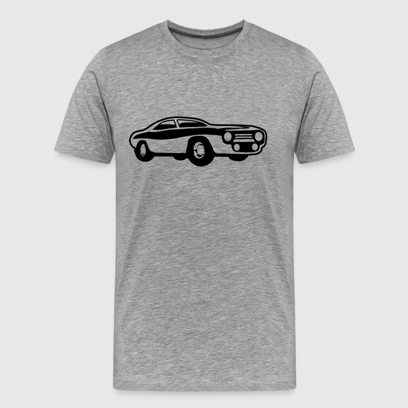Cool Muscle Car Design - Men's Premium T-Shirt