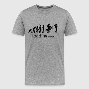 Evolution Enduro loading with father and child - Men's Premium T-Shirt