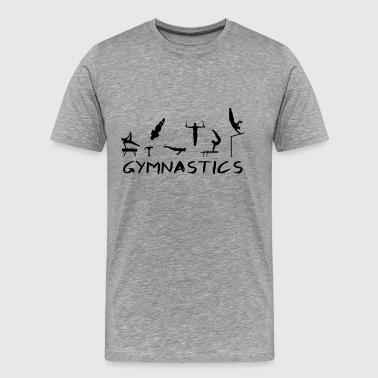 Men's Gymnastics - T-shirt Premium Homme