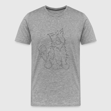 Border Collie - Herding dog  - Men's Premium T-Shirt