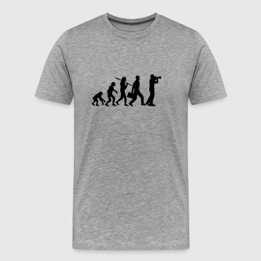 Evolution appareil photo photographe - T-shirt Premium Homme