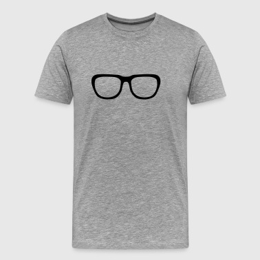 Nerd glasses, Geek (cheap!) - T-shirt Premium Homme