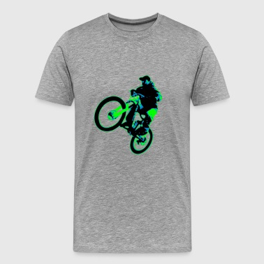 Bike Freeride Downhill Enduro - Männer Premium T-Shirt
