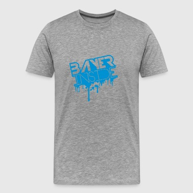 Bayer inne Graffiti Design - Premium T-skjorte for menn