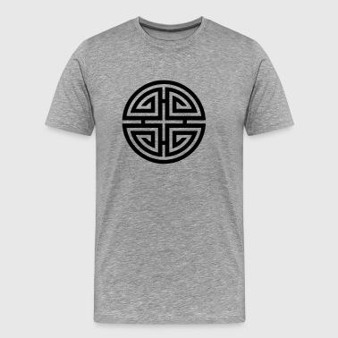 Four blessings, Chinese Good Luck Symbol, Charms - Men's Premium T-Shirt