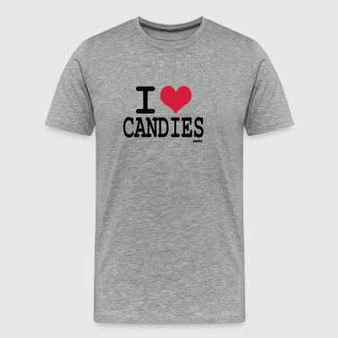 i love candies by wam - T-shirt Premium Homme