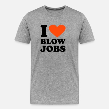 Queen Bitch I love Blowjobs - Men's Premium T-Shirt