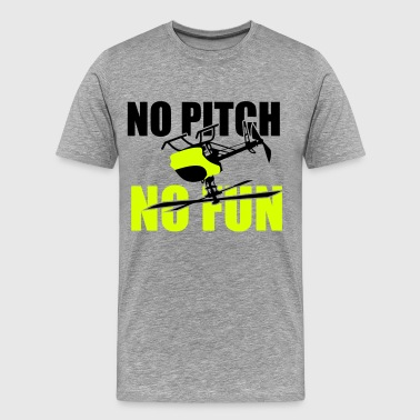 no pitch no fun - Männer Premium T-Shirt