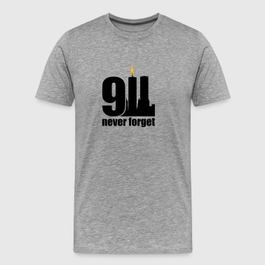 never forget 9/11 - Mannen Premium T-shirt