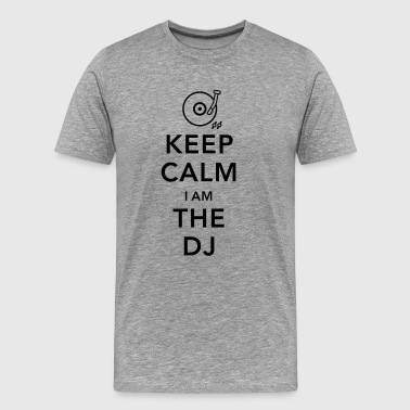 keep calm i am deejay dj - Men's Premium T-Shirt