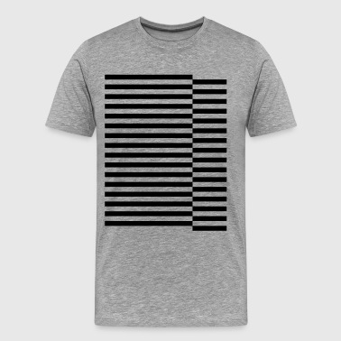staggered strips - Men's Premium T-Shirt