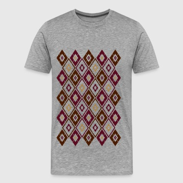 Modern Argyle - Men's Premium T-Shirt