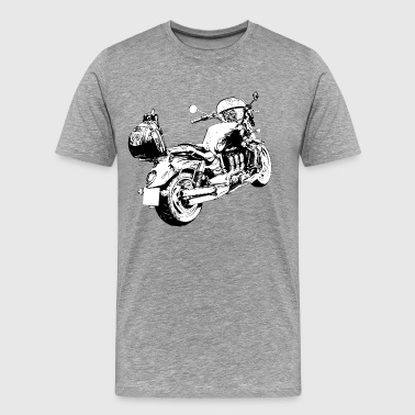 Rocket Motorcycle - Men's Premium T-Shirt