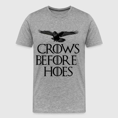 Crows Before Hoes - Maglietta Premium da uomo