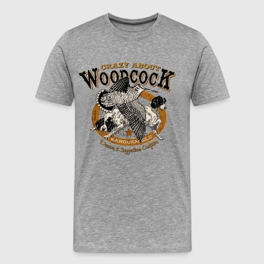 crazy_woodcock - Men's Premium T-Shirt