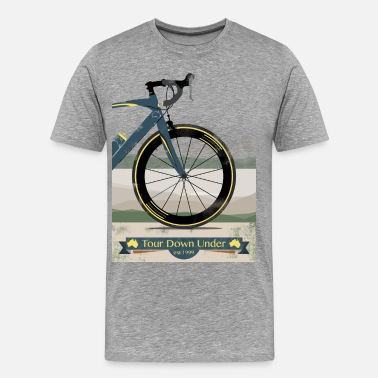 Australia Tour Down Under Bike - Men's Premium T-Shirt