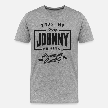 Johnny Cash Johnny - Men's Premium T-Shirt