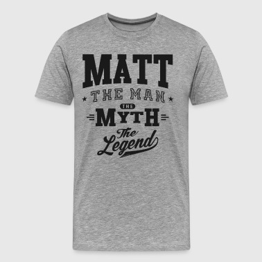 Matt Matt - Men's Premium T-Shirt