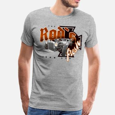 rod´s fresh - T-shirt premium Homme