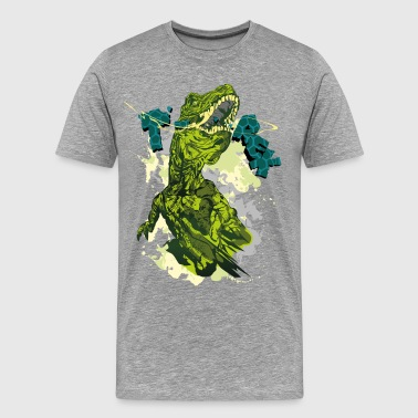 Tyrannosaurus Rex Animal Planet T-Rex - Men's Premium T-Shirt