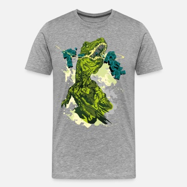 T Rex Animal Planet T-Rex - Premium T-skjorte for menn