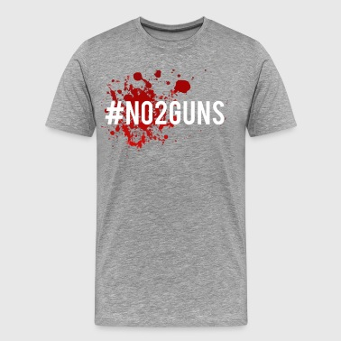No 2 Guns - Männer Premium T-Shirt