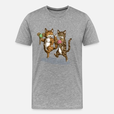 Mice-Cream-Kittens - Camiseta premium hombre