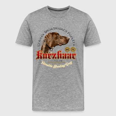 Pointer gsp-kurzhaar - Men's Premium T-Shirt