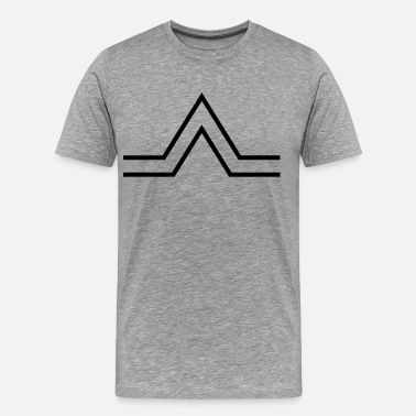Triangle Sign triangle sign - Men's Premium T-Shirt
