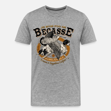 Chasse fou_becasse - T-shirt Premium Homme