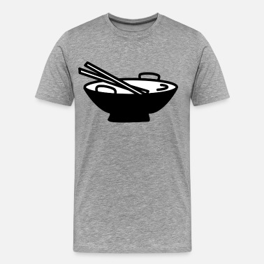 Funny Asian asian food - Men's Premium T-Shirt