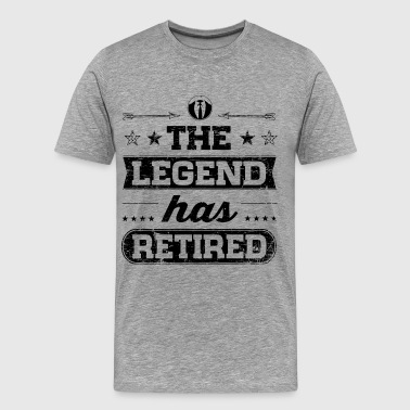 The Legend Has Retired - Männer Premium T-Shirt