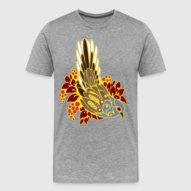 Diamond dove tribal tattoo - Men's Premium T-Shirt