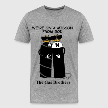 The Gas Brothers - Männer Premium T-Shirt