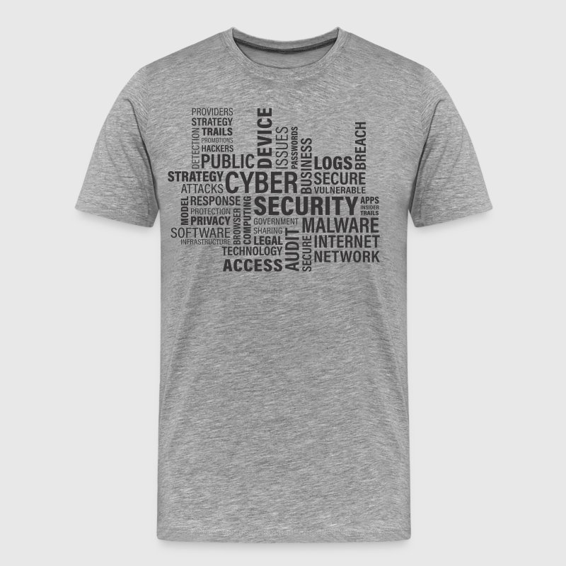 Cyber ​​Security - Men's Premium T-Shirt