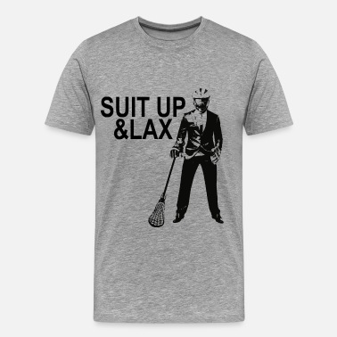 Suit Up & Lax - Männer Premium T-Shirt
