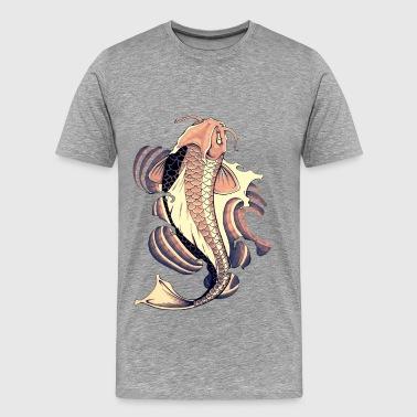 Ordina online magliette con tema carpa spreadshirt for Peluche carpe koi