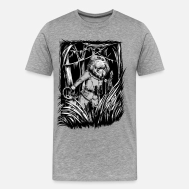 Spreadshirtlikes King of the Jungle - T-shirt Premium Homme