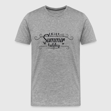 Summer sun beach holiday sea gift idea - Men's Premium T-Shirt