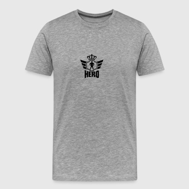 King Hero Logo - Men's Premium T-Shirt